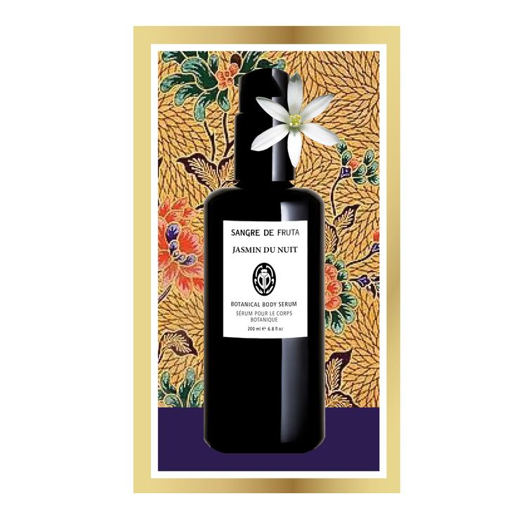 Precious Jasmine true flower essence combined with Sandalwood and a bouquet of florals. Artisanal beauty made in Canada. www.sangredefruta.com