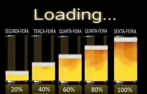 Só na sexta-feira que eu bebo muita cerveja | Este e outros 20 memes de cerveja só no Brejas