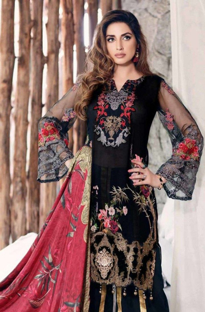 aedf8857dc Latest Pakistani Eid Dress Collections 2018 | Eid Collection 2018 in ...