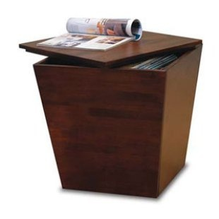 Winsome Storage End Table with Lift Top