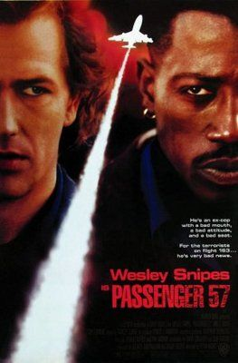 Passenger 57 is a 1992 American action film directed by Kevin Hooks. https://en.wikipedia.org/wiki/Passenger_57 (fr=Passager 57)