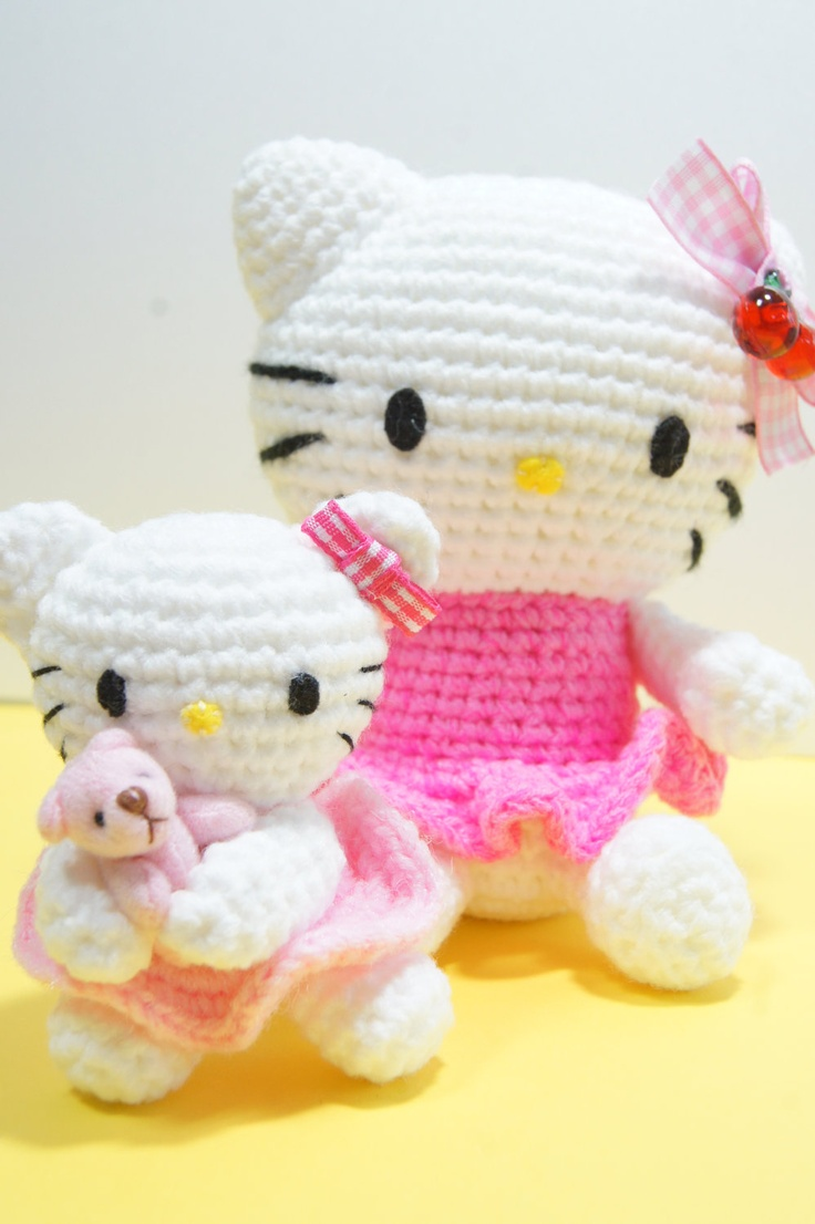 Hello Kitty Amigurumi Ohje Suomeksi : Pin by Marion Bouthoorn on Doe-het-zelf en knutsels die ik ...