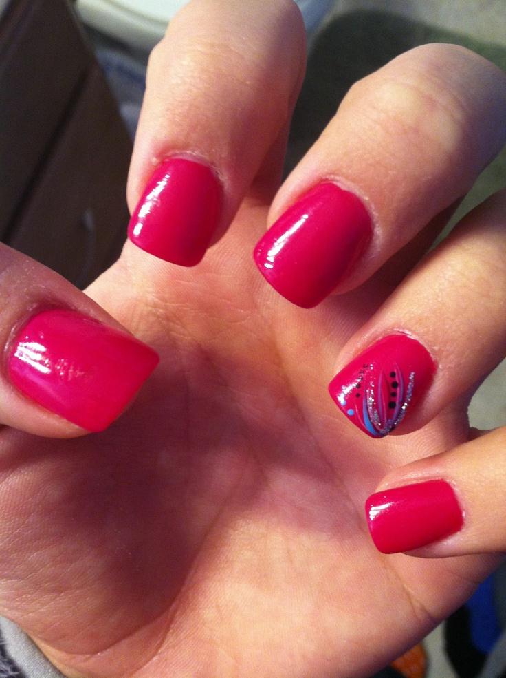 Acrylic nail design | Acrylic Nail Designs 2013 | Pinterest