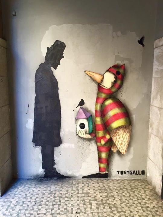 #tonygallo #kennyrandom #padova #streetart #