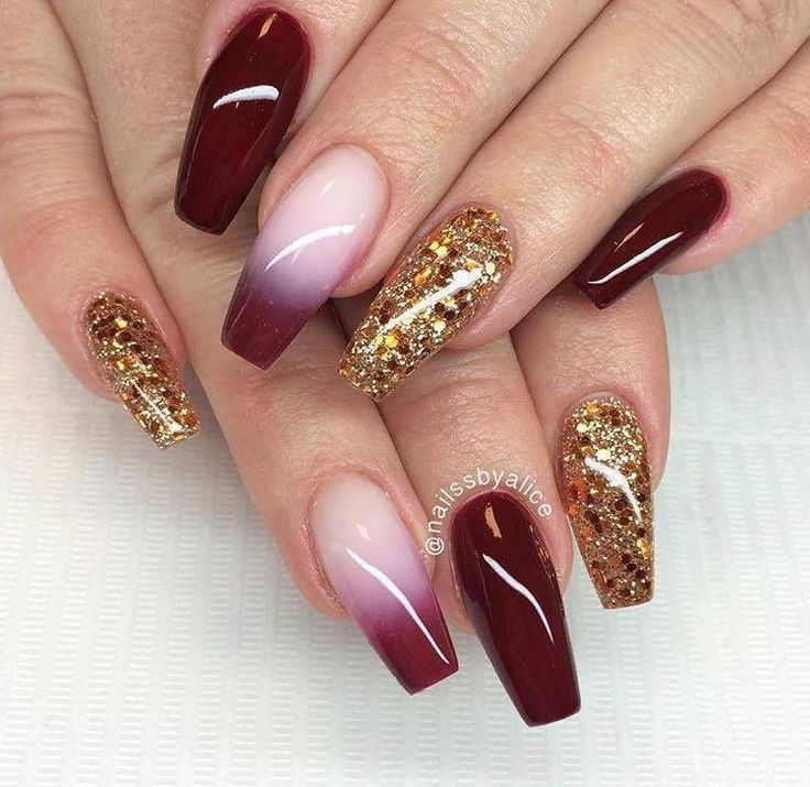 Red Nail Polish In Grout: Best 25+ Deep Red Nails Ideas On Pinterest
