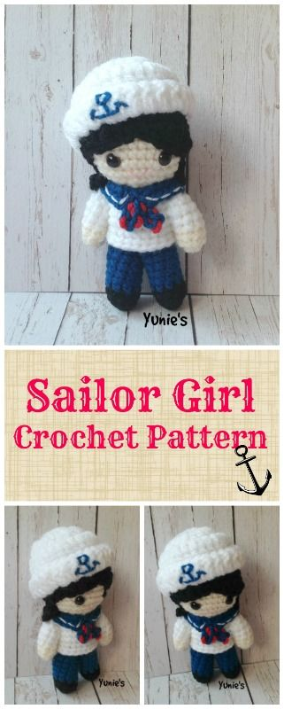Sailor Girl Crochet Pattern