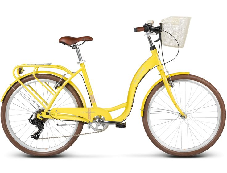 Rower Kross Le Grand LILLE 3 żółty połysk 2017 | Internetowy sklep rowerowy Sporti