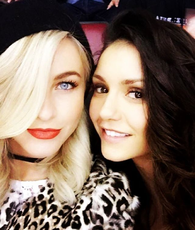 Pin for Later: 18 Times You Wished You Were Friends With Nina Dobrev and Julianne Hough When This Flawless Selfie Made Your Instagram Feed Look Inadequate