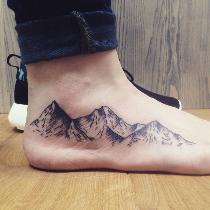 30 Epic Mountain Tattoo Ideas #Epic # Ideas #tattoo