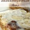 Der Rezeptkritiker: Snickerdoodle Bars