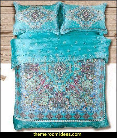 boho Bedding Set,bohemia Exotic Bedding Set
