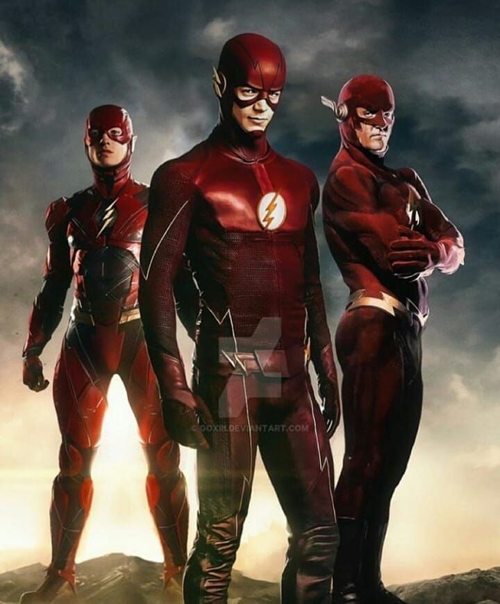 Flash from three different worldsWhich one is your favourite? Follow@hero.diary  for more Don't forget to Double Tap  Ignore the tags :  #herodiary #marvel #batman #comics #dccomics #dc #superman #hero #art #spiderman #marvelcomics #cosplay #avengers #love #hulk #comic #superheroes #ironman #captainamerica #wonderwoman #geek #comicbooks #dcuniverse #marveluniverse #nerd #picoftheday #photooftheday #followme