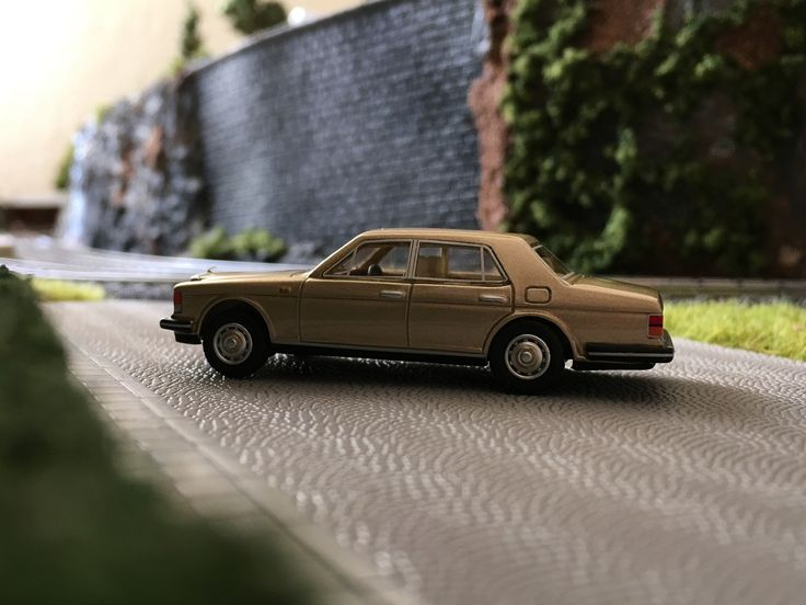 Rolls Royce Silver Spirit Mark 1 , 1980 , 1:87 .4