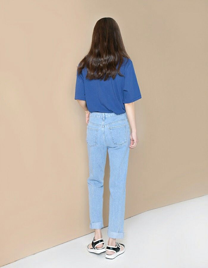 Blue jeans in the mornin kstyle @jacintachiang