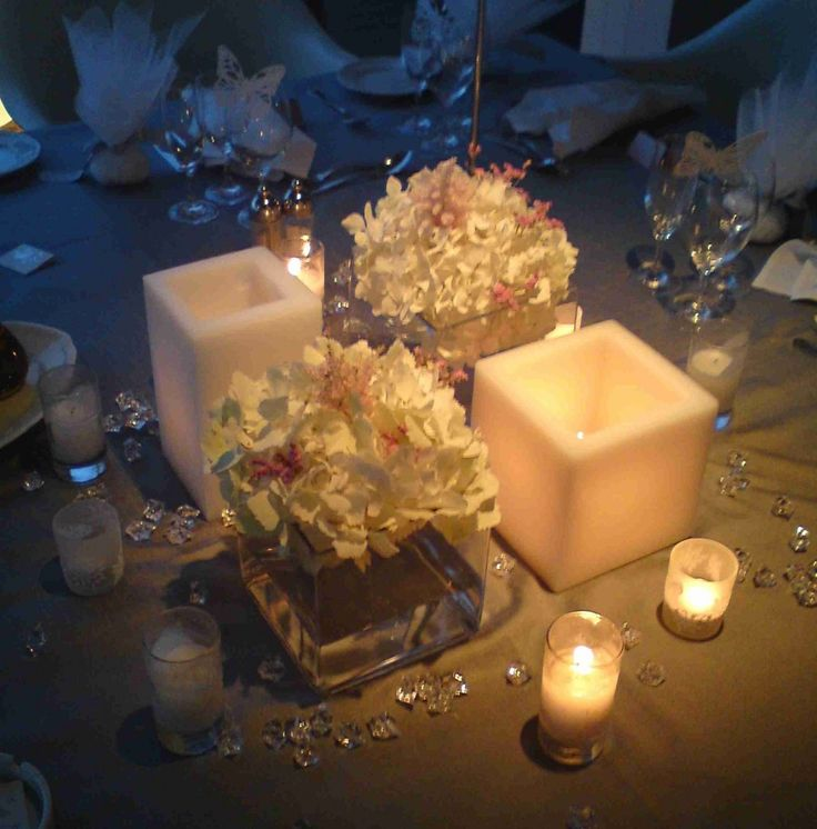 στολισμός γάμου με ορτανσίες