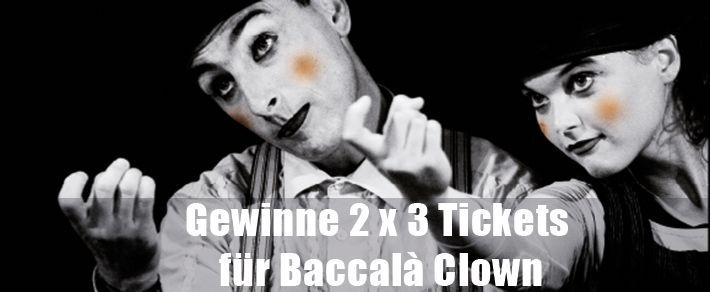 Für Circus and Friends by David Dimitri mit Baccalà Clown in Gstaad verlosen wir täglich 3x2 Tickets. Jetzt mitmachen: http://ow.ly/G6Zfk