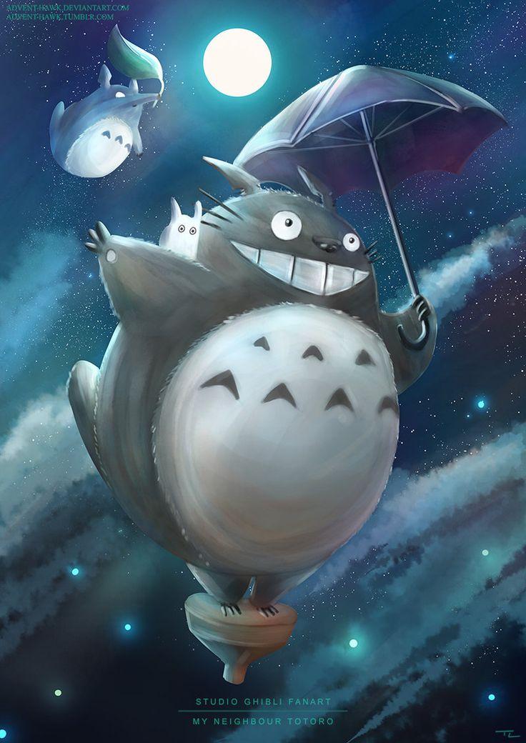My Neighbour Totoro - Studio Ghibli Fanart by Advent-Hawk on DeviantArt