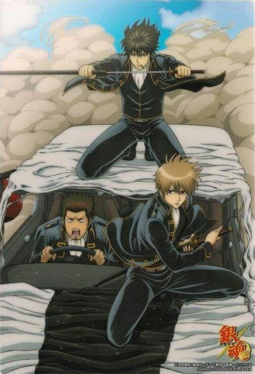 Shinsegumi en accion