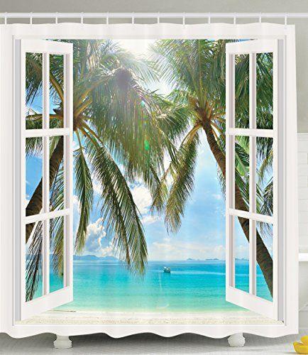 Curtains For Bathroom Window Ideas: 39 Best Shower Curtain Ideas Images On Pinterest