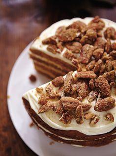 Gâteau à la citrouille et glaçage au fromage à la crème - Ricardo recette