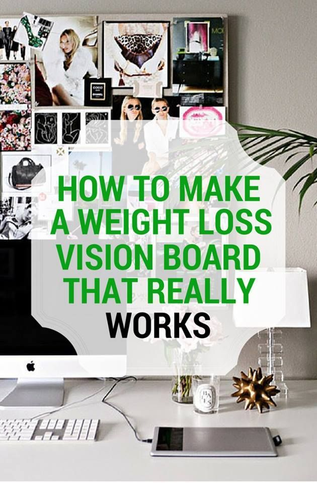vision board ideas weight loss