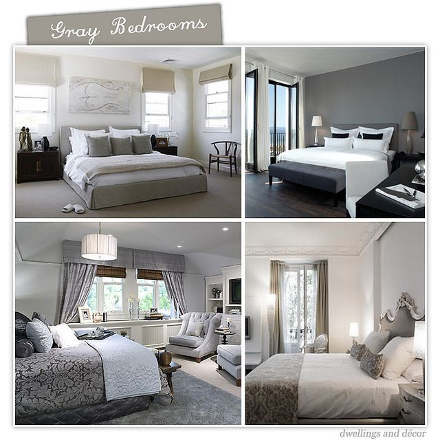 Grey Bedroom Decorating: 166 Best Images About Paint Color On Pinterest