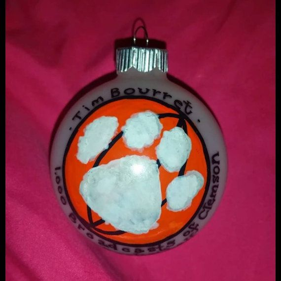 Personalized Basketball Ornament Hand-Painted Christmas