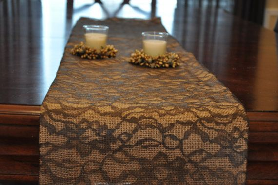 craft ideas with burlap 94 best burlap amp lace table runner images on 3964