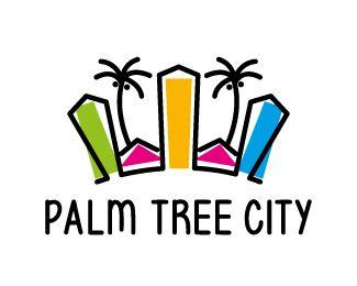 Logo Design - Palm Tree City