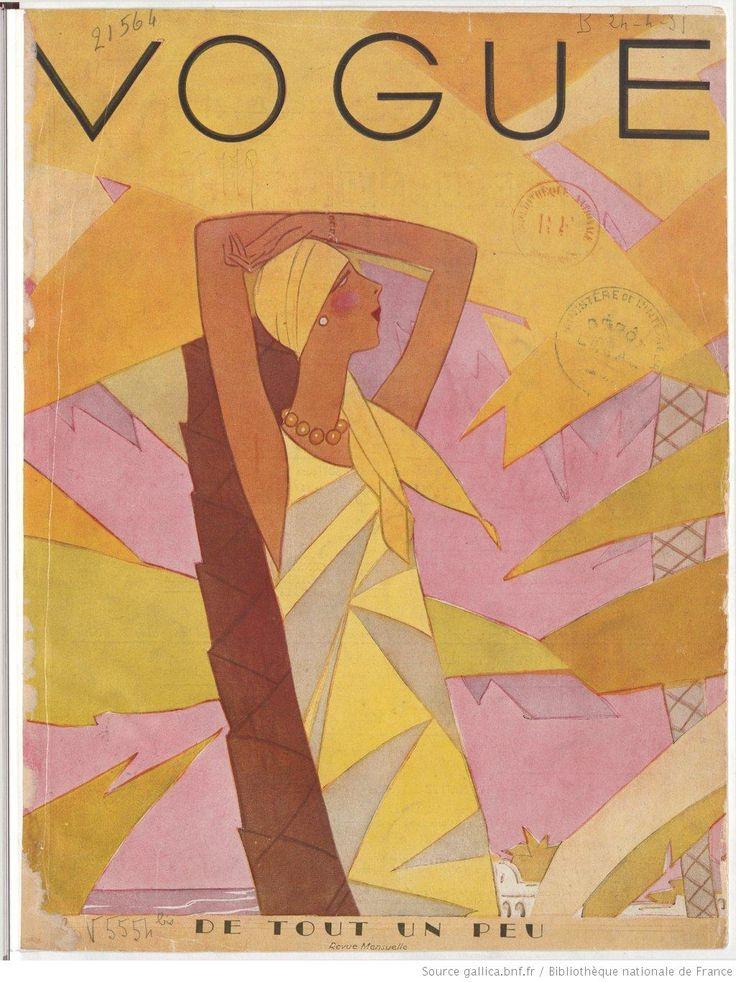 Vogue (Paris), janvier 1929