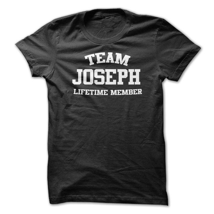 TEAM NAME JOSEPH ヾ(^▽^)ノ LIFETIME MEMBER Personalized Name T-ShirtTEAM NAME JOSEPH LIFETIME MEMBER Personalized Name T-ShirtTEAM NAME JOSEPH LIFETIME MEMBER Personalized Name T-Shirt