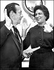 Constance Baker Motley, a civil rights lawyer who fought nearly every important civil rights case for two decades and then became the first black woman to serve as a federal judge. Additionally, she became the first African-American woman ever to argue a case before the U.S. Supreme Court, in Meredith v. Fair she successfully won James Meredith's effort to be the first black student to attend the University of Mississippi in 1962.