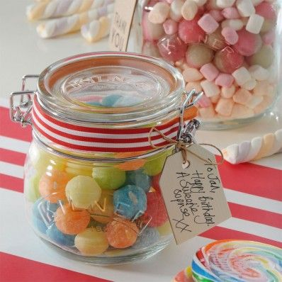 For your sweet toothed friend! Set of 3 @kilner  Round 0.5 litre Clip Top Jars #Cute #Ideas #Kitchen #Home #Living #Inspiration