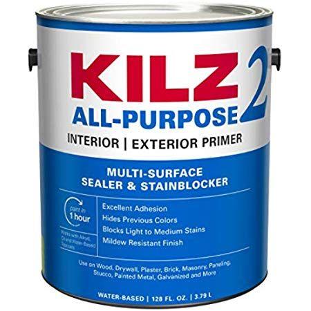 Amazon Com Zinsser B I N Shellac Base Primer 1 Gallon White Home Improvement Cover Stains Kilz Exterior Primer