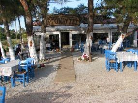 Argonaftes fish tavern, Potidaia, Halkidiki, tel.211 311 5555