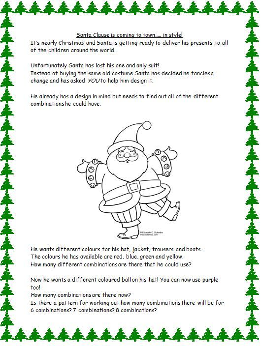 17 Best images about Christmas Maths / literacy / science on ...