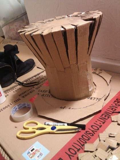 Anleitung für den Hutmacher (es gibt auch ein anderes Mädchen, das dieses Tutorial gemacht ha…