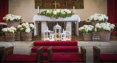 Decoración floral boda novias