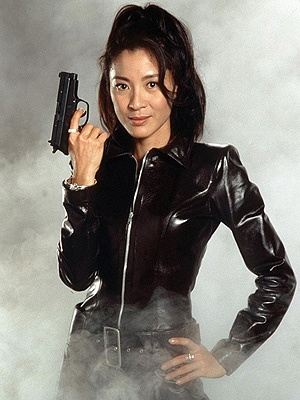 Michelle Yeoh from James Bond movie Tomorrow never dies