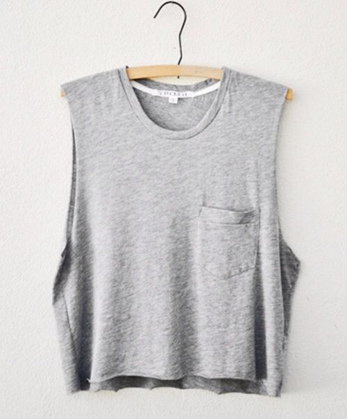 This would go great with black cutoff jeans!