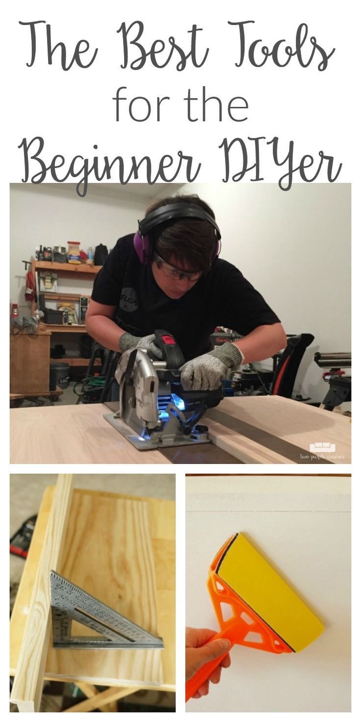 Are you a first-time homeowner or aspiring do-it-yourselfer? This list of the best tools for beginner DIYers will help you get off to a great start! This is also a great power tool gift guide for the holiday season!