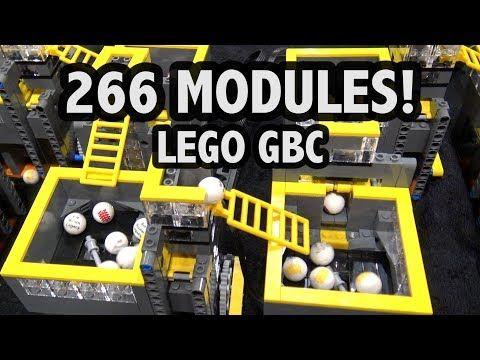 World's Longest LEGO Great Ball Contraption! Brickworld