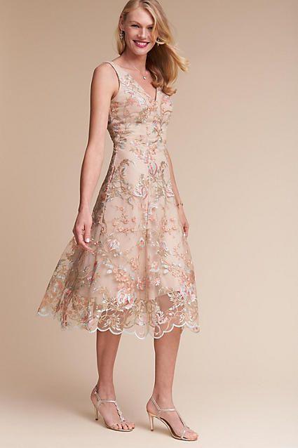 Anthropologie Eloizia Wedding Guest Dress