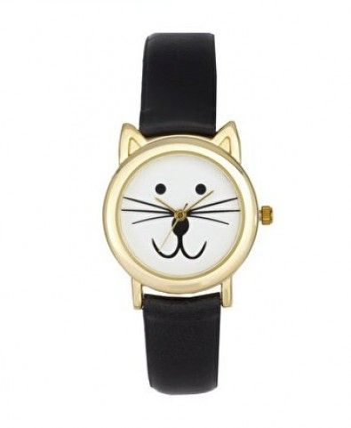 'Excuse me, do you have the time?'  'Why yes.  Looks like it's Meow-o-clock.'