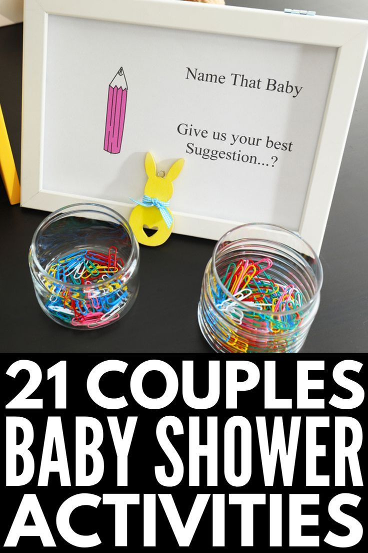 21 Non-Traditional Baby Shower Games That Are Actually Fun