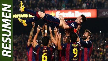 Lionel Messi: el hombre récord