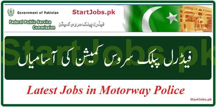 Motorway Police Jobs 2018 By NHMP Apply Online Through FPSC [500+ Vacancies]