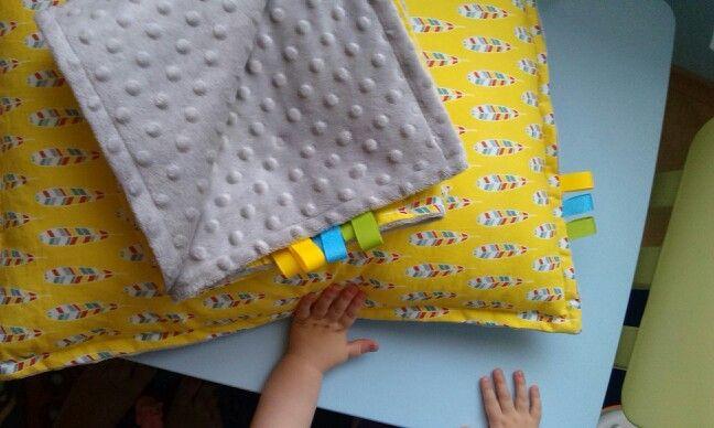 Minky blanket by pastelovenitki