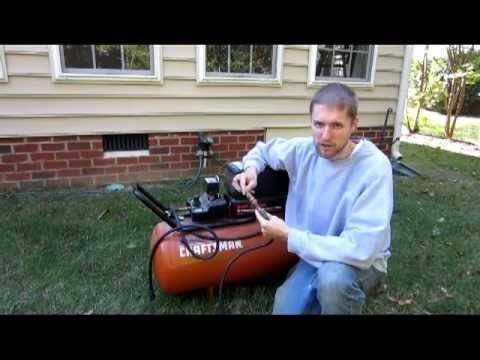 How to blow out your sprinkler system Winterizing sprinkler irrigation - YouTube