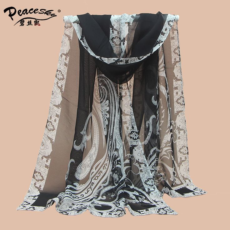 women's voile shawls High quality female digital print silk scarves 2015 new fashion ladies' casual scarfs wholesale gift #women, #men, #hats, #watches, #belts, #fashion, #style